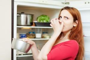 Stinkende koelkast